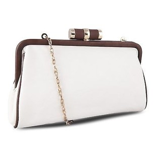 Other Miadora Lady Pia Soft Wallet W Detachable Chain Strap Cream Clutch