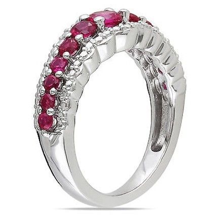 Other 1 15 Ct Tgw Ruby Fashion Ring In Sterling Silver