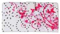 Other Sale - Colorful Bling Floral Butterfly Stand Wallet Case for iPhone 6 4.7