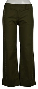 Other Sitwell Womens Cropped 0 Causal Trousers Flared Capris Pants