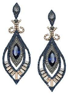 Other crystal rhinestone evening earrings