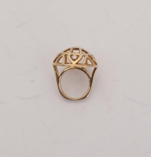Other De Novo Global Collection By Cheryl Tiu Dome Of Rock Yellow Gold Diamond Ring