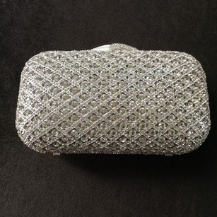 Criss Cross Crystal Clutch