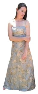 Other Nicole Miller Silk Formal Floral Spaghetti Strap Gown Vintage No Tags Dress