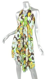 Other short dress Multi-Color Minkie Womens Floral Pattern Halter Sleeveless Tie on Tradesy