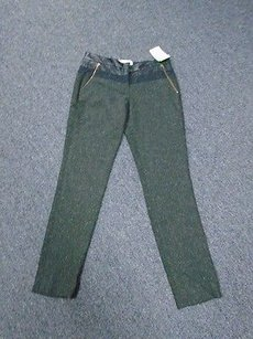 Specked Wool Blend Pants
