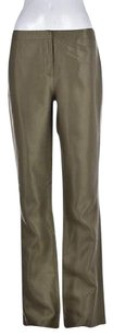 Other Maxazria Collection Womens Metallic Dress Silk Trousers Formal Pants