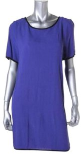 short dress Purple on Tradesy