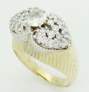 Other Estate 14k Yellow Gold 1.60 Tcw Vs-si G-h Round Cut Diamond Ring R270