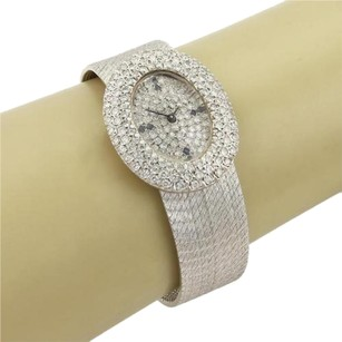 Other Estate 2.00ct Diamond Face Dial 14k White Gold Watch