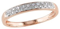 10k Pink Gold 110 Ct Diamond Tw Eternity Fashion Ring Gh I2i3