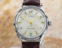 Other Exquisite Mens Benrus 1950s Swiss Made Manual Wind Dress Watch Xj69