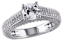 Other Sterling Silver 3 16 Ct Tgw White Sapphire Fashion Ring