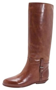 Other Jil Sander Navy Womens Tabacco Flat Brown Boots