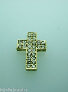 Other Fine Estate 14k Yellow Gold Cross Pendant
