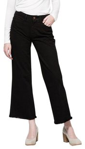 Objects Without Meaning Black Flare Leg Jeans