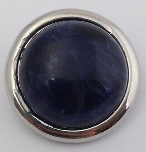 Other Ginger Snaps African Sodalite Snap B Dark Blue Stone Sn29-14