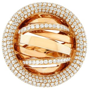 Other Glk 18k Rose Gold 2.50ct Diamond Galaxy Ring