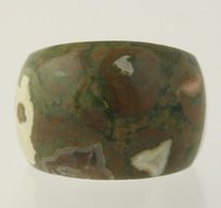 Other Green Thomsonite Ring - Sterling Silver Chunky Stone Statement