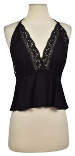 Hippie Love Womens Black Halter Top