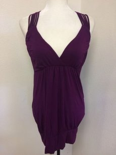 Zenana Outfitters Plum Purple Halter Top
