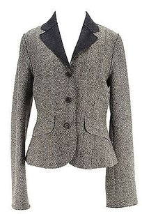 Henry Cottons Geometric Womens Suit Brown Wool Blend -
