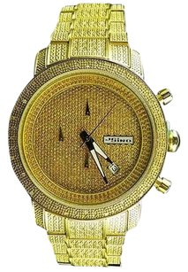 Iced Mens Jojojojino Joe Rodeo Stainless Steel 1.05 Ct Diamond Watch Mj-1000b