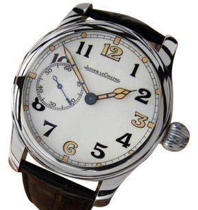 Other Jaeger Lecoultre Highest Calibre Custom Manual 1930s Stainless Steel Watch J805