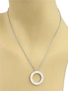 Cartier Love Open Circle Pendant Necklace In 18k White Gold