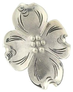 Other Stuart Nye Dogwood Flower Ring - Sterling Silver Floral Adjustable