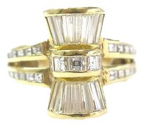 18kt,Multi,Shape,Designer,Diamond,Jewelry,Ring,Yg,1.98ct