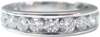 Other Fine Round Cut Diamond 10-stone Band Ring 5.1mm 1.30ct