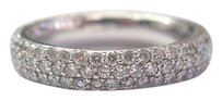 18kt,3-row,Diamond,Anniversary,Band,Ring,2.00ct