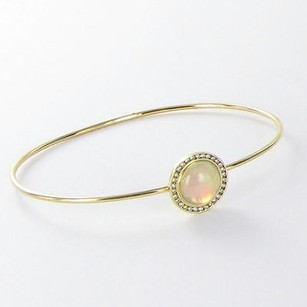 Other Syna Maya Bracelet 14mm Opal Diamond 0.25cts 18k Yellow Gold