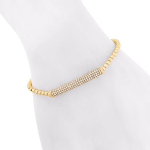 1.07ct Diamond 14k Rose Gold Bead Bracelet