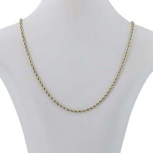Other Rope Chain Necklace - Sterling Silver 14k Gold Plated 22 Lobster Clasp 2.8mm