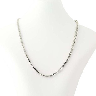 Other Snake Chain Necklace 17 - Sterling Silver Lobster Claw Clasp Womens