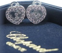 Chopard,Happy,Diamond,Hearts,Earrings,18kt,1.69ct