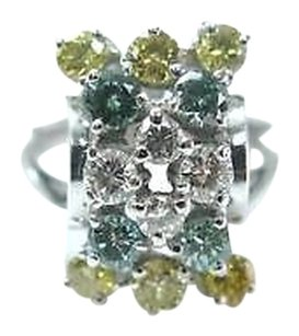 Other Fine Multi Color Diamond Cocktail Jewelry Ring 1.69ct