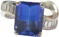 18kt,Gem,Tanzanite,Diamond,Anniversary,Jewelry,Ring