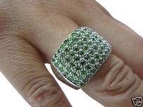 Other Fine,Ladys,18kt,Wide,Peridot,Ring,Wg,18kt