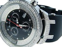 Joe Rodeojojo Master Band Jjm23 Diamond Watch 2.65 Ct