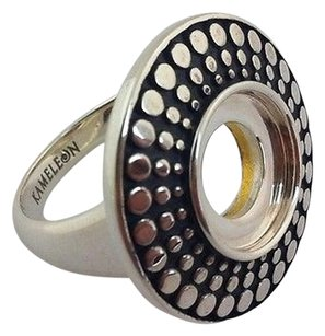Kameleon 925 Silver Antique Disc Ring Kr-23 Kr023 8