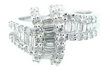 Other Ladies 18k White Gold 1.20ct Diamond Ring