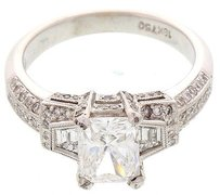 Ladies Gia Certified Diamond 1.65 Ct Solitaire Ring