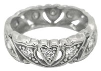Other Ladies Platinum 0.45ct Diamond Ring (Vintage)