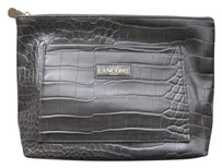 Other Lancome Faux Crocodile Leather Cosmetic Bag