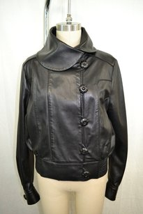 Other Bruce Wide Collar Black Jacket