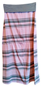 Other Maxi Skirt pink/gray