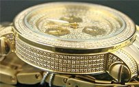 Mens Jjojinojoe Rodeo Gold Jcl 65 376 Diamond Watch 3.5ct